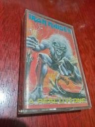 Fita K7 Iron Maiden A Real Live One