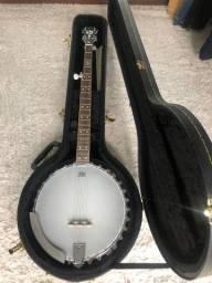 Banjo epiphone 5 cordas original americano