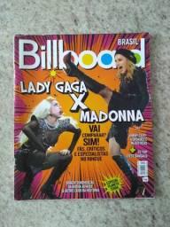 Revista Billboard Lady Gaga X Madonna