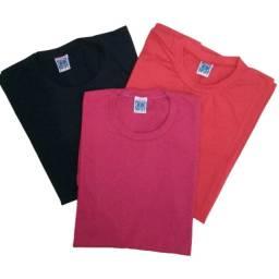 Kit Camiseta Masculina Algodão Tecido Ducam Slim Fit