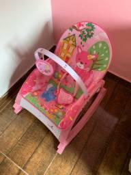 Cadeira de balanço color baby