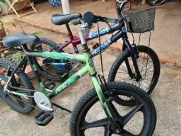 Bicicleta infantil pra meninos e meninas