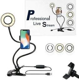 A melhor luz para live celular