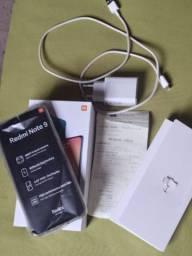 Redmi note 9 128 gb na caixa
