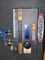 Processador de som e crossover Expert bluetho