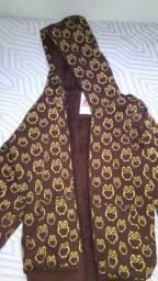 Jaqueta forrada de coruja