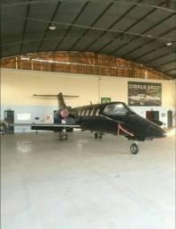 Avião Jato Learjet- D25