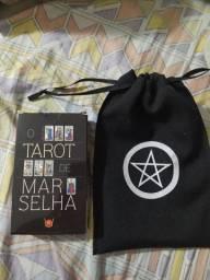 Tarot de Marselha + saquinho pentagrama