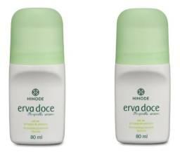Pack 2x Desodorantes Antitranspirante Hinode Roll On - 80ml