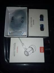 Fones De Ouvido Trn M10 Intra-Auricular Universal De Metal Com Fio