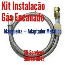 Kit Instalação Fogão Gás Encanado