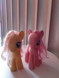 Bonecos my little pony (pinkie pie e fluttershy)