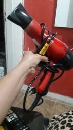 Secador vermelho