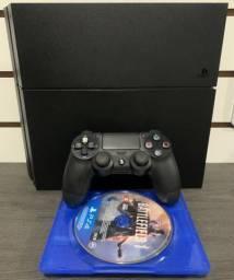 PS4 1terabyte as versão Todo fosco (semi-novo) com 1 jogo + garantia.