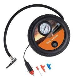 Compressor De Ar Em Roda C/ Adaptadores 150 Psi 15l/ Min 12v