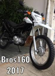 Bros 160-2017/Vende / troca / Financia-Emplacada 2020
