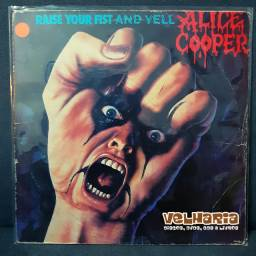 Alice Cooper - Raise Your Fist and Yell (LP)