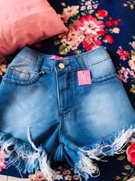 Shorts jeans novo número 38 (obs) paguei 79,90