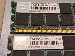 Pente de Memória  2GB DDR 400 RG3-3-3