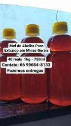 Mel de Abelha Puro - 1kg -750 ml