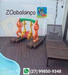 Aluguel Zoo Balanço playground por 7, 15 e 30 dias de diversão