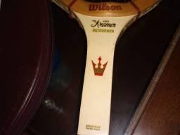 Raquetes antigas anos 70 Wilson Kramer..