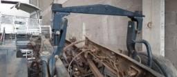 Cavalete traseiro suspensão cabine iveco tector