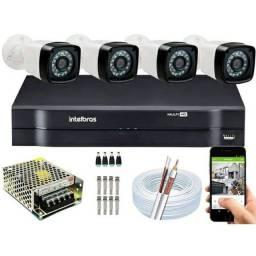 Kit CFTV Instalação Grátis