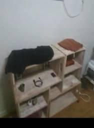 móvel de caixotes de feira de madeira estante cômoda