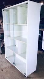 Vitrine portas em vidro fechaduras