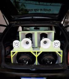 Peças para som automotivo
