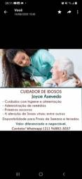 Cuidadora e Acompanhante de idosos - TecEnf COREN ATIVO