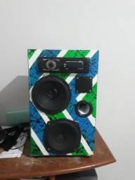Caixa amplificada 500 wats