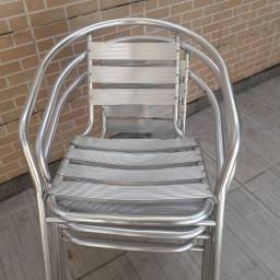 vendo cadeira de alumínio