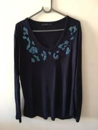 Blusa marca Zara - tamanho G