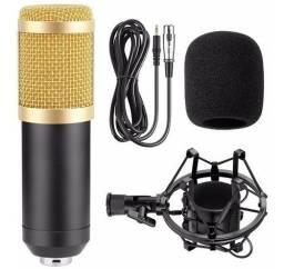 Microfone Condensador Estúdio Profissional Mt-1025