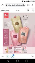 REFIL Creme Acetinado hidratante Corporal - Lily - O BOTICÁRIO