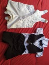 Vendo potinho de roupa menino de 6 a 9 meses