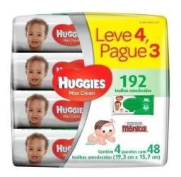 Lenços Umedecidos Huggies Max Clean 192 Toalhas - Lv 4 Pag 3
