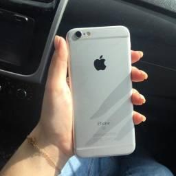 iPhone 6s Prata 64gb Perfeito