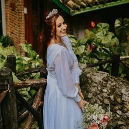 Vestido de noiva feito no atelier murina