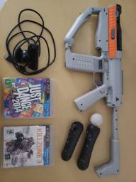 PS3 KIT SHARP SHOOTER parcela sem juros