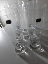 cjto de copos - 6 unidades