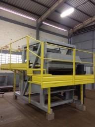 Máquina Pré-Limpeza 60 t/h com ciclone - Reformada e Revisada