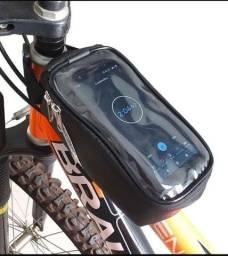Bolsa smartphone para bicicletas