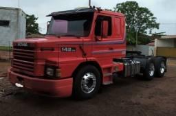 Scania 142  + Graneleiro Guerra