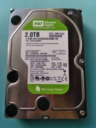 HD Western digital 2.0 TB