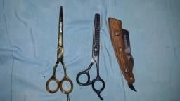 Tesouras para barbeiro