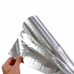 Manta Térmica P/ Telhado 2faces 25m  Alumínio