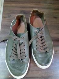 Sapato de couro numeração 35